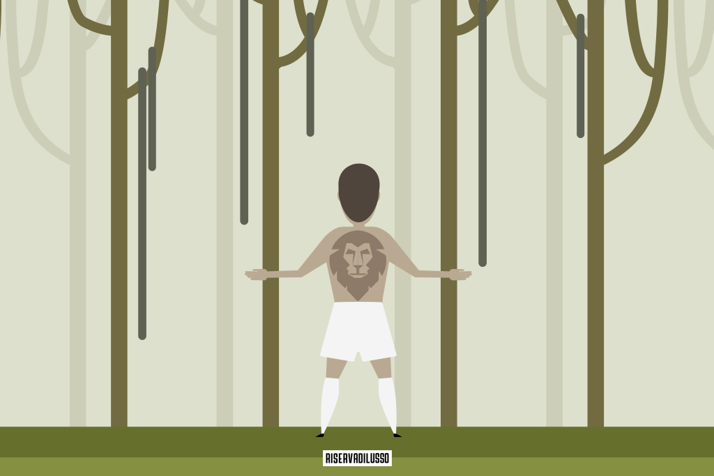 depay illustrazione giungla