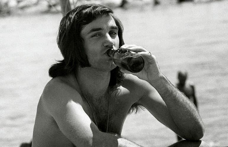 george best citazioni alcol spiaggia