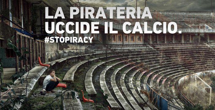 pirateria serie a riserva di lusso