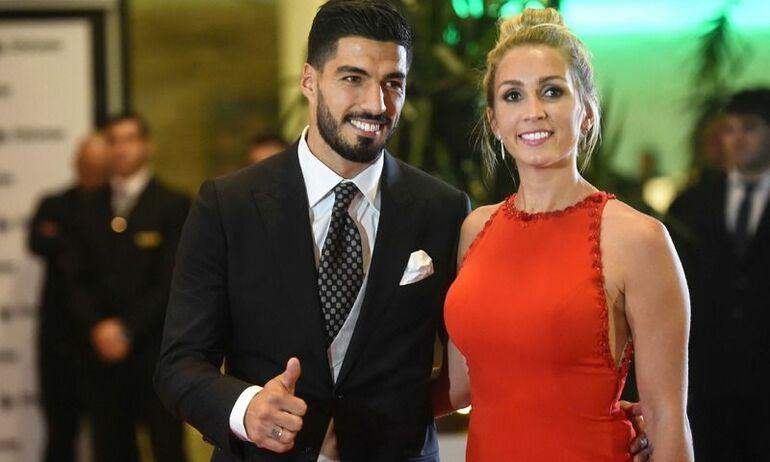 Luis Suarez curiosità sofia balbi moglie