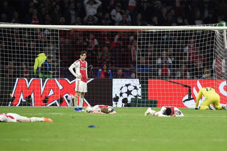 Ajax Tottenham 2-3 - Riserva di Lusso