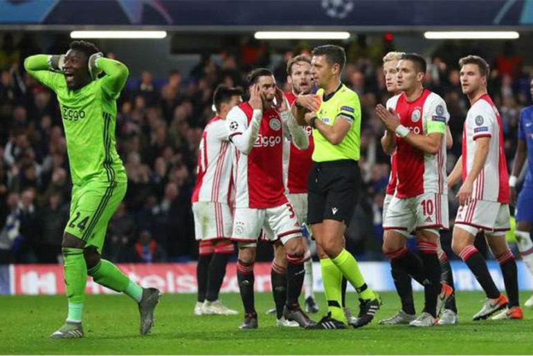 Chelsea Ajax 4-4 - Riserva di Lusso