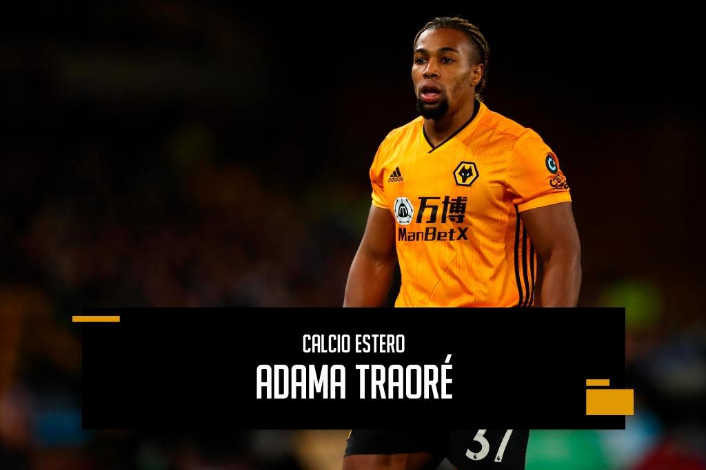 Adama Traoré riserva di lusso