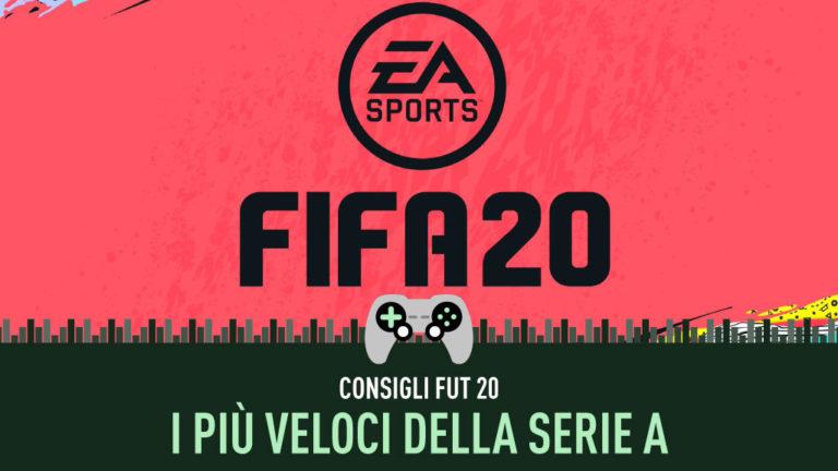 fifa FUT 20 Serie A più veloci riserva di lusso