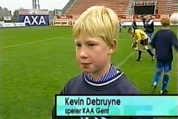Kevin De Bruyne curiosità bambino