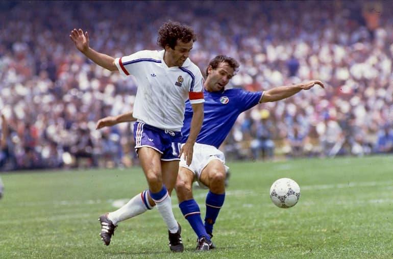 platini curiosità francia-italia mondiali 1984 curiosità