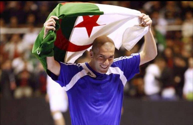 zizou curiosità bandiera algeria