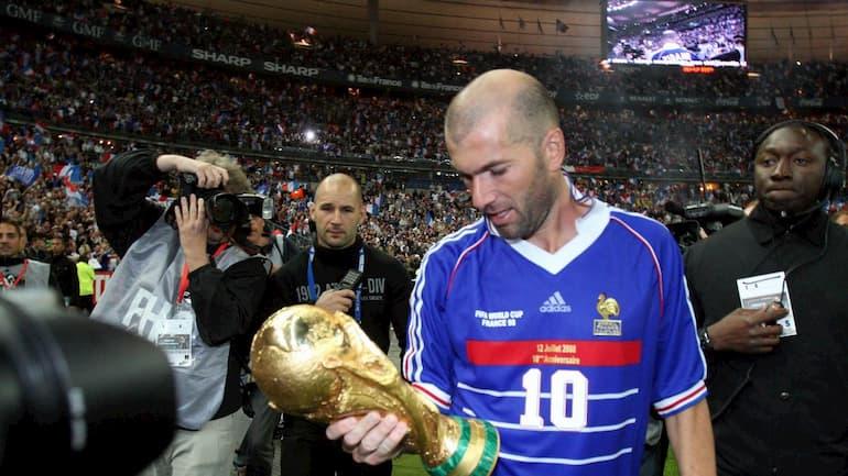 Zidane curiosità mondiale 1998