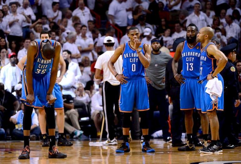 Harden, Durant, Westbrook
