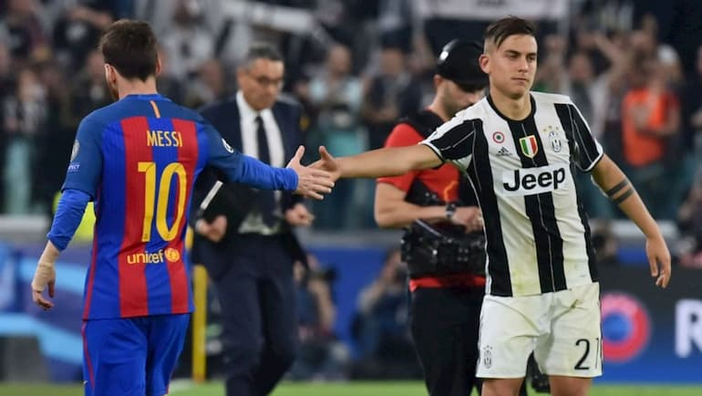 Messi Dybala Allianz Stadium