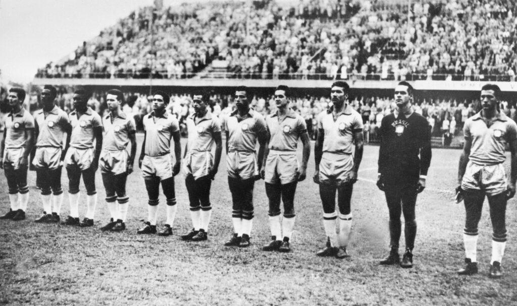 Brasile alla Coppa del Mondo 1958 - Foto AFP Getty Images OneFootball