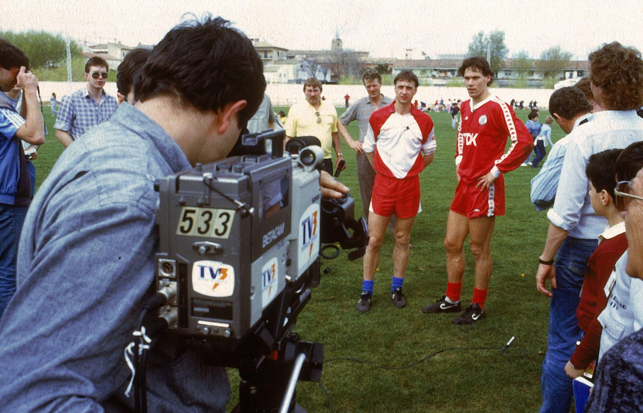 Cruyff & van Basten - Foto Imago OneFootball