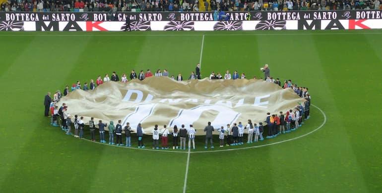 Friuli in festa per Udinese-Carpi, ultima partita di Di Natale (Foto: Dino Panato/Getty Images - OneFootball)