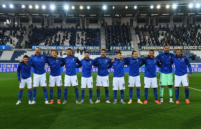 Inno nazionale italiano - Foto Claudio Villa Getty Images OneFootball