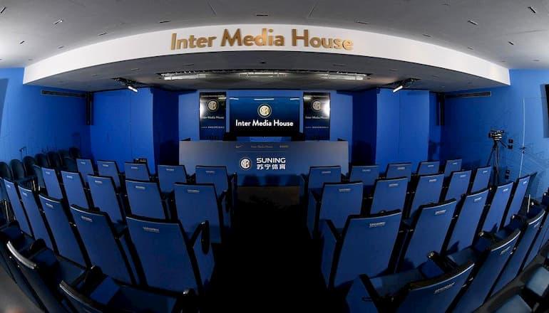 La Media House dell'Inter, una delle più note tra i top club (Foto: Inter.it)