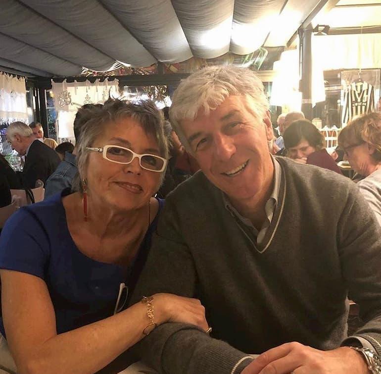 La celebre Giuliana e Gian Piero Gasperini (Foto: Gianluca Di Marzio)