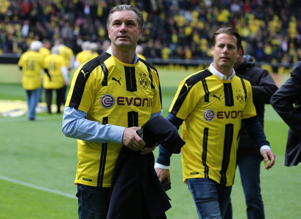 Michael Zorc e Lars Ricken (Foto: Imago - OneFootball)
