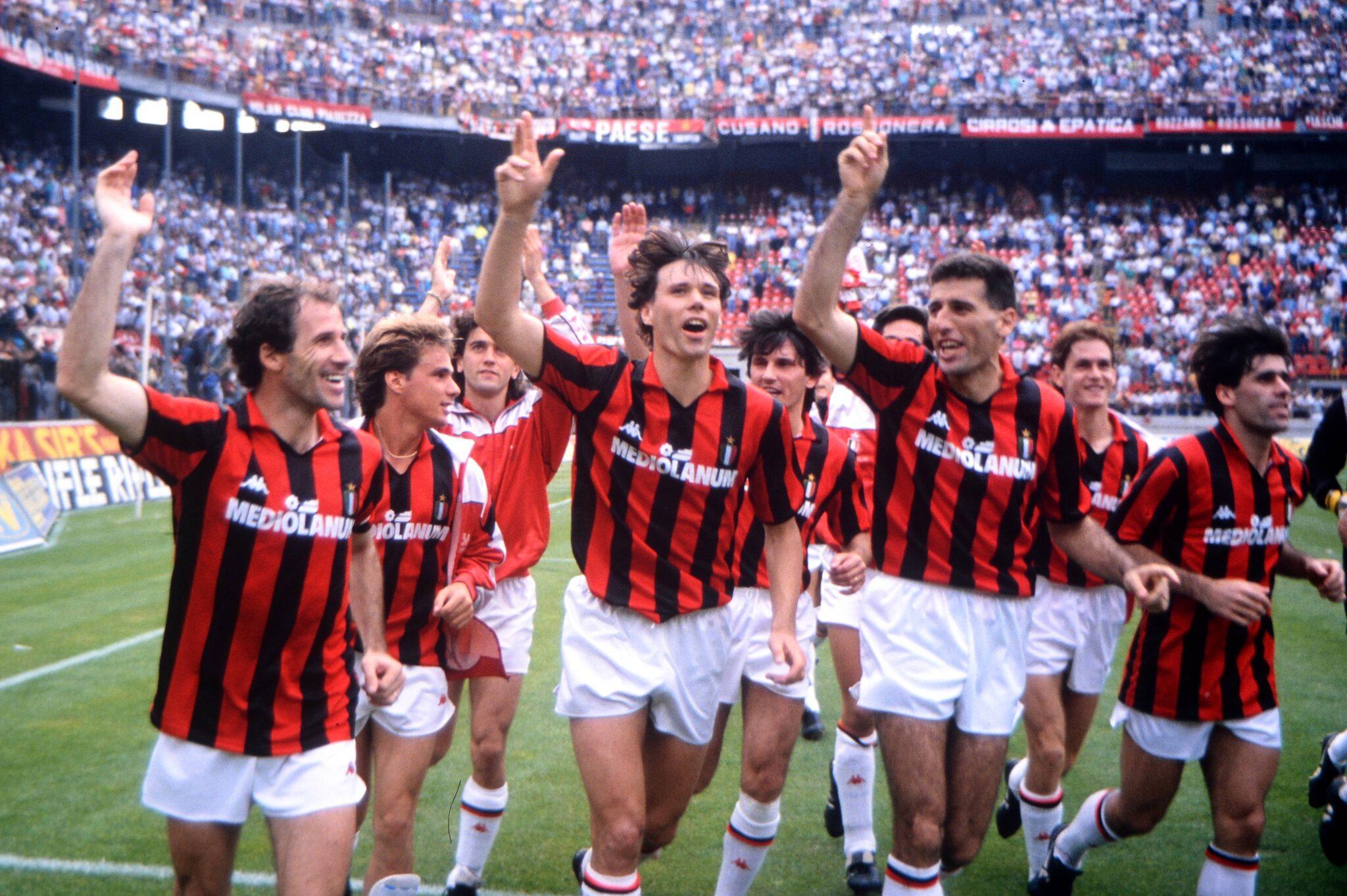 van Basten Milan - Foto Imago OneFootball