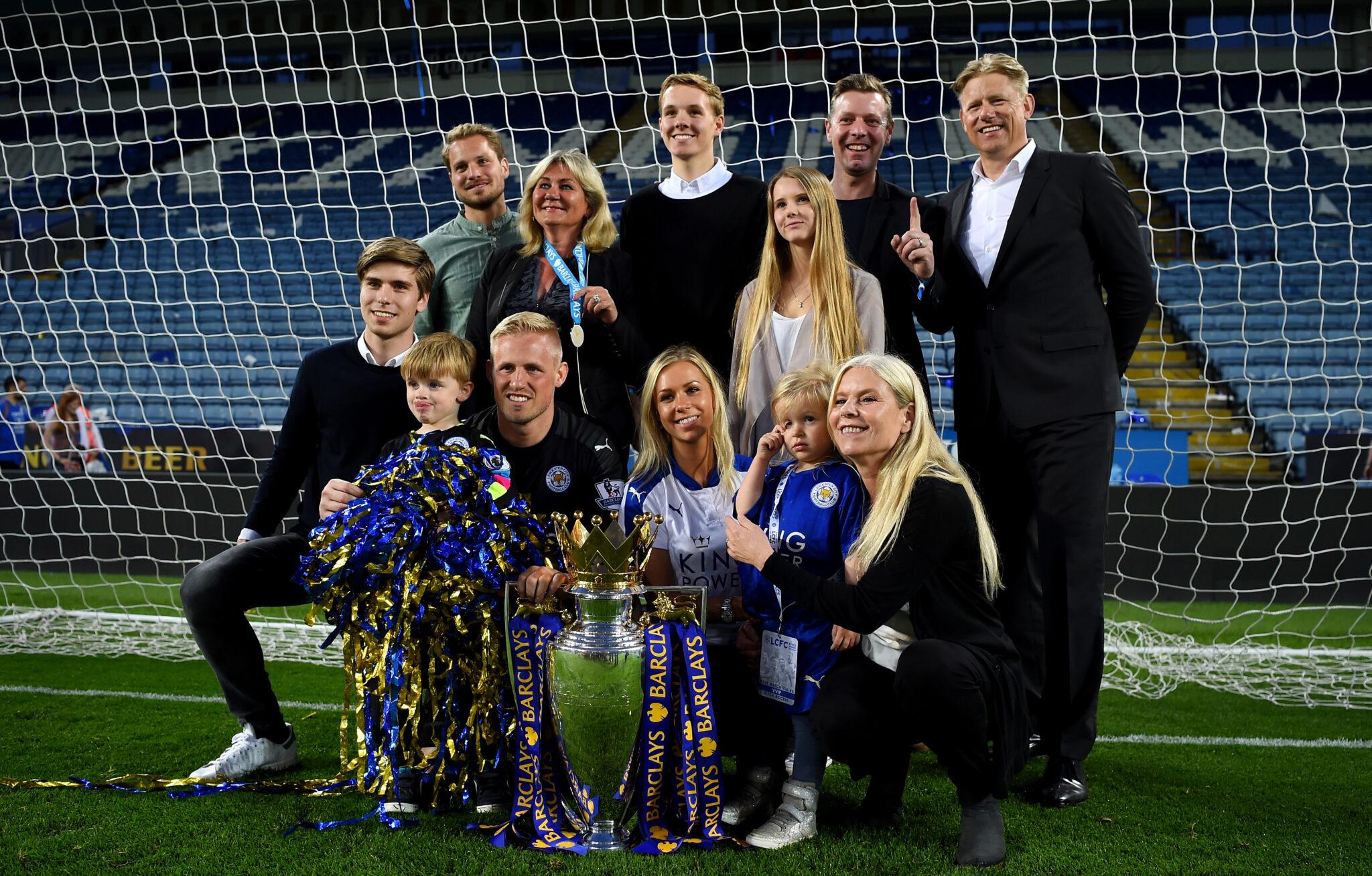 Famiglia Schmeichel - Foto Shaun Botterill Getty Images OneFootball