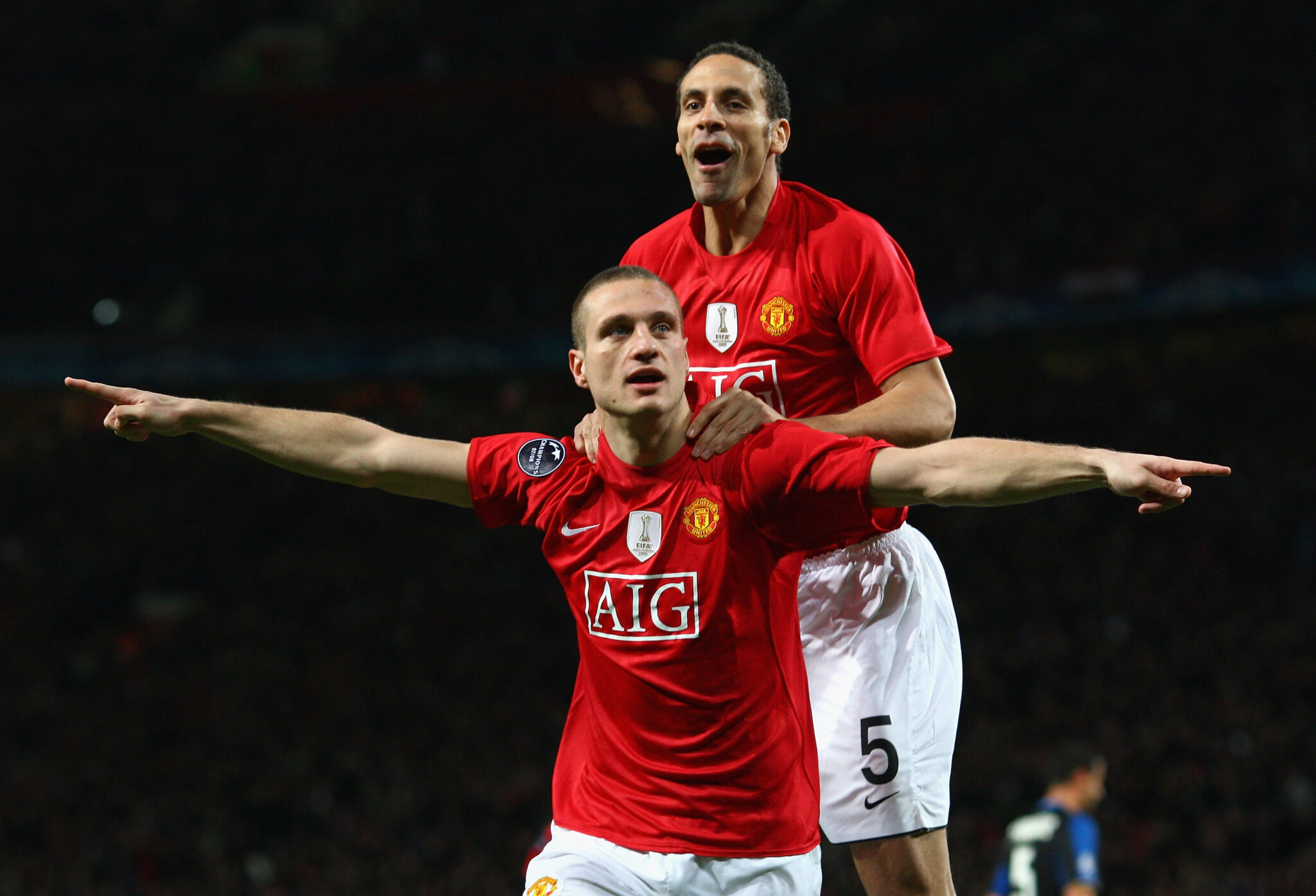 Ferdinand & Vidic - Foto Laurence Griffiths Getty Images OneFootball