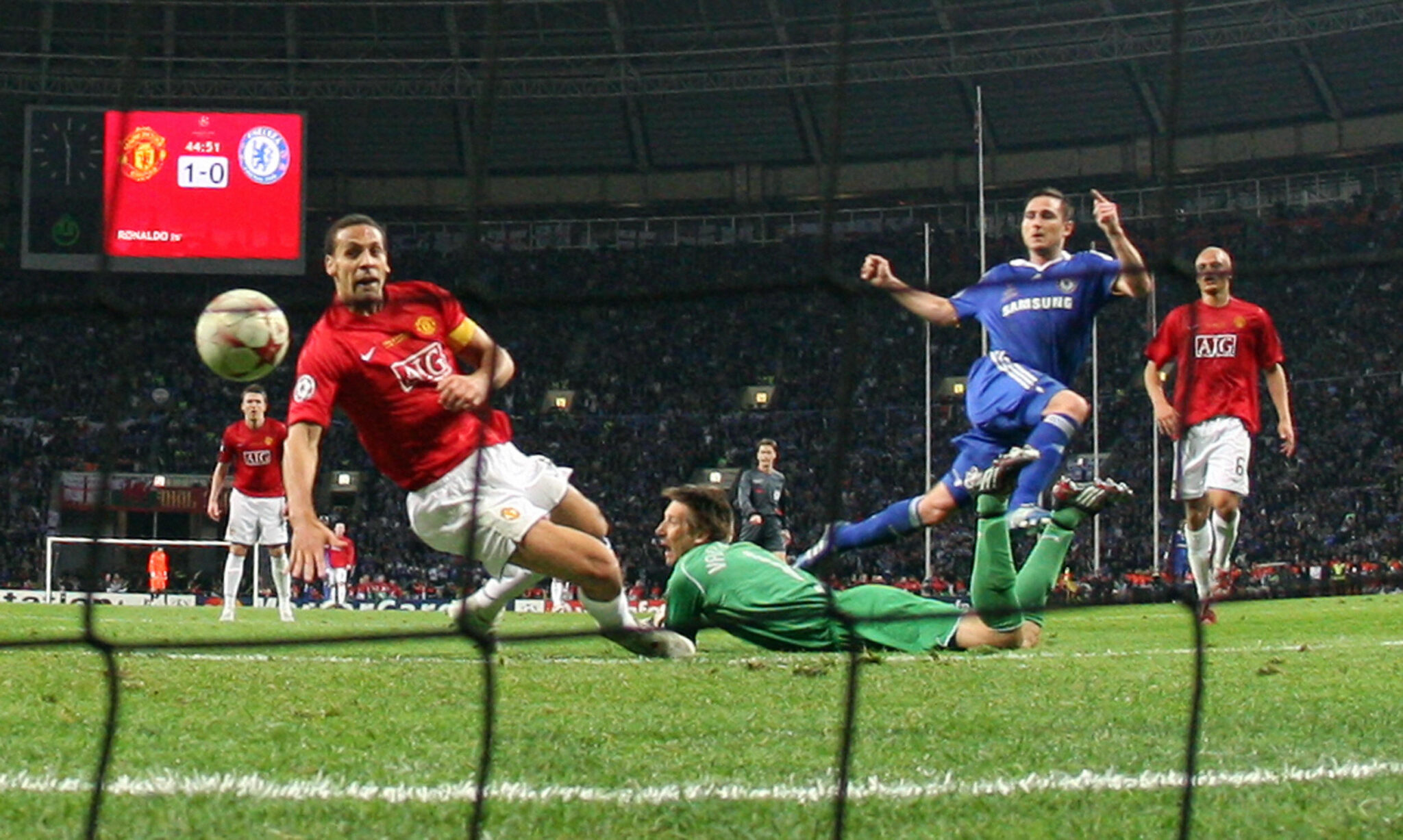 Gol Lampard vs United - Foto Franck Fife AFP Getty Images OneFootball