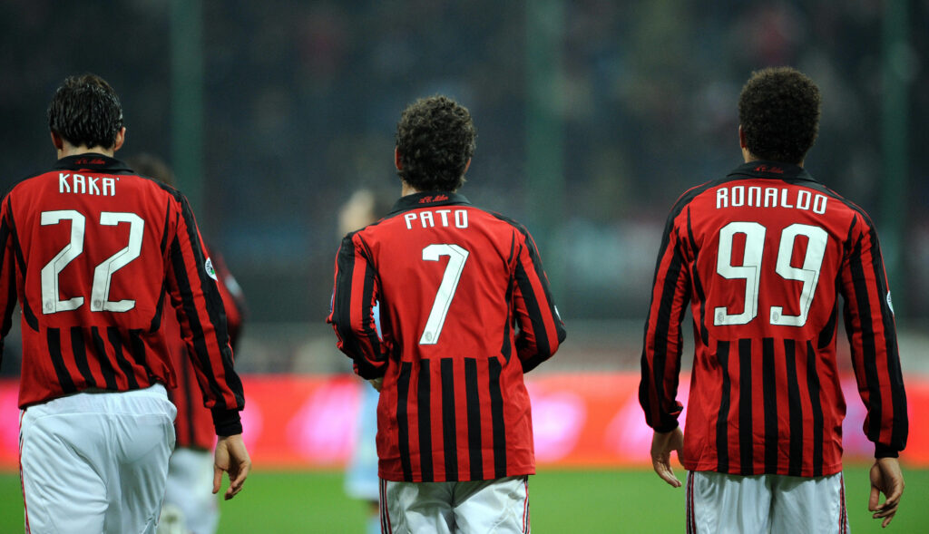Milan - Kaka e Ronaldo