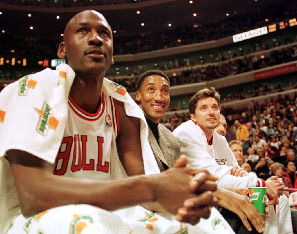 Jordan, Pippen e Kukoc