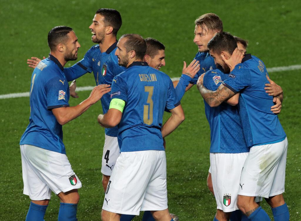 Azzurri contro l'Olanda