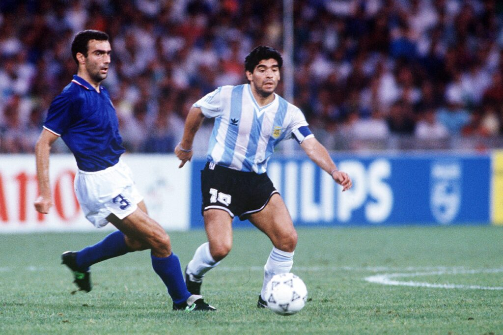 Bergomi Maradona