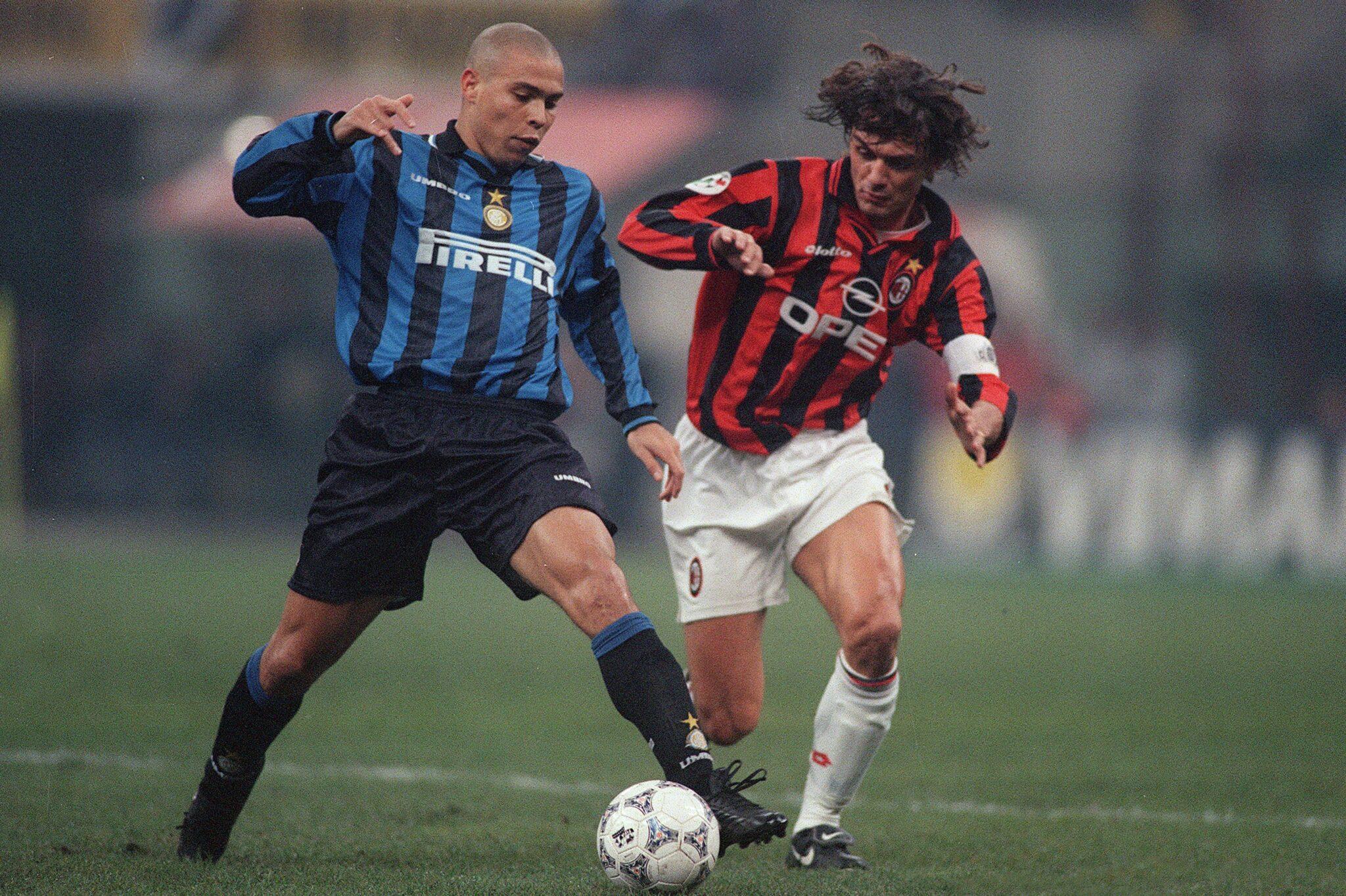 Ronaldo e Paolo Maldini
