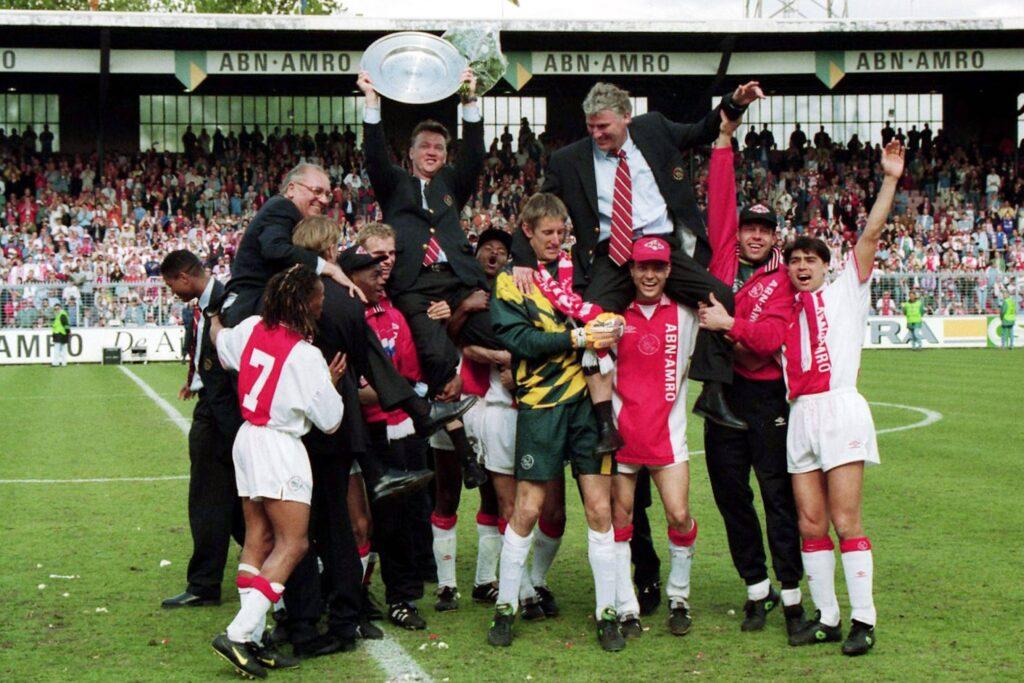 Ajax campione d'Olanda 1995-96 - Foto Imago OneFootball