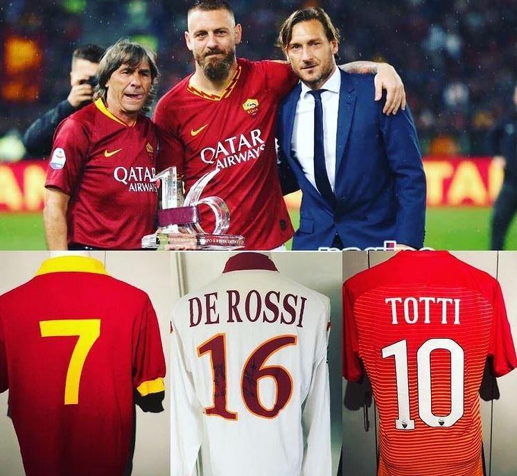 Bruno Conti De Rossi Totti