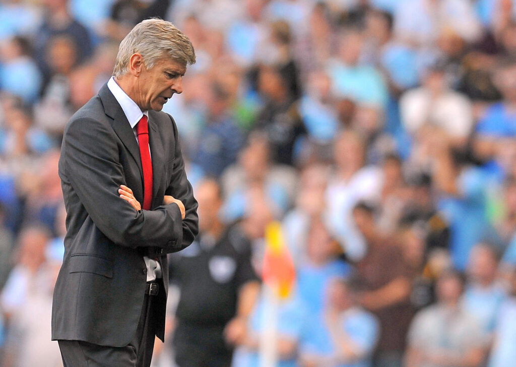 Wenger in City vs Arsenal - Foto Andrew Yates AFP via Getty Images OneFootball