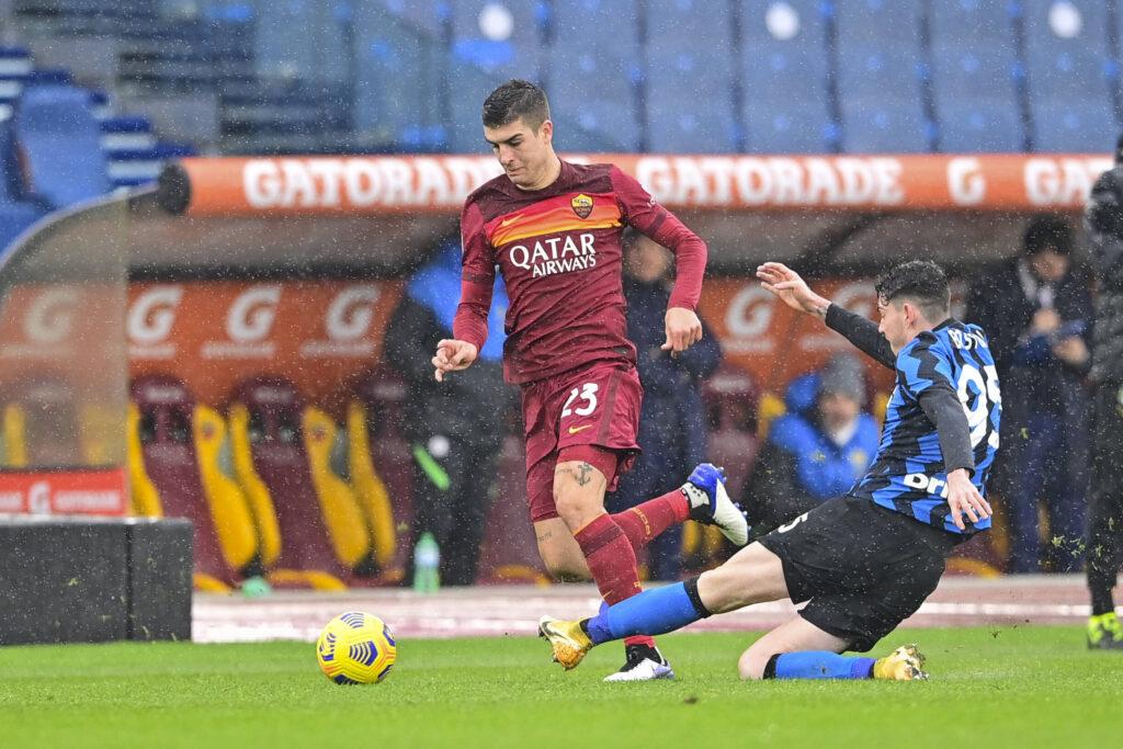 Bastoni va a contrasto con Mancini