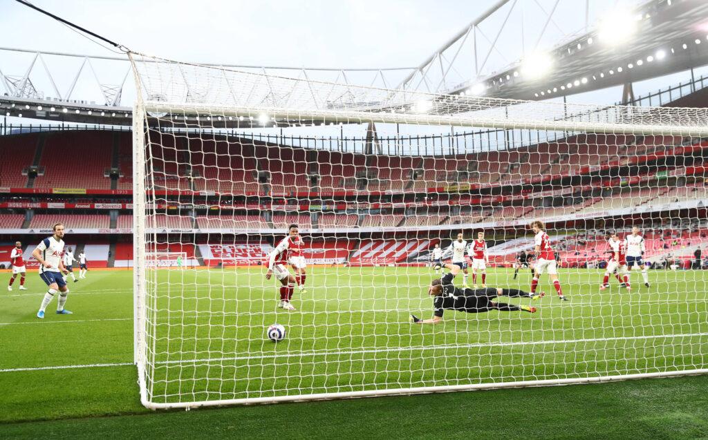 Lo scenario del gol