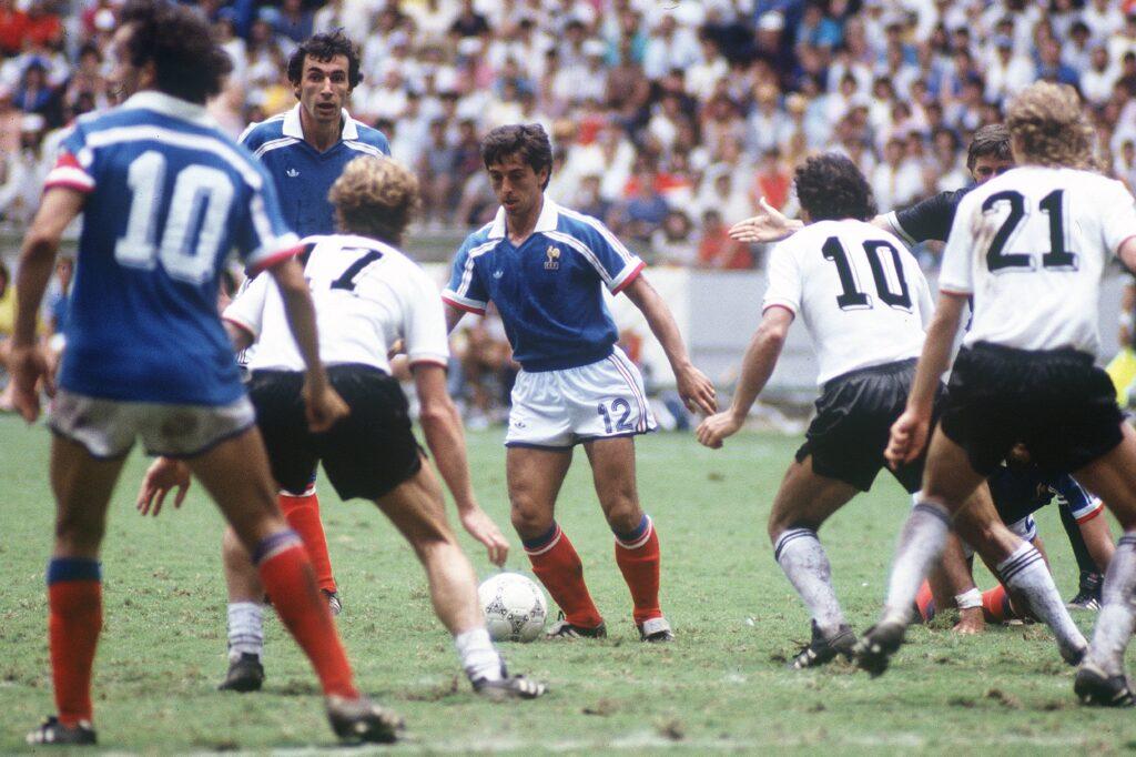 La semifinale tra Francia e Germania del 1986