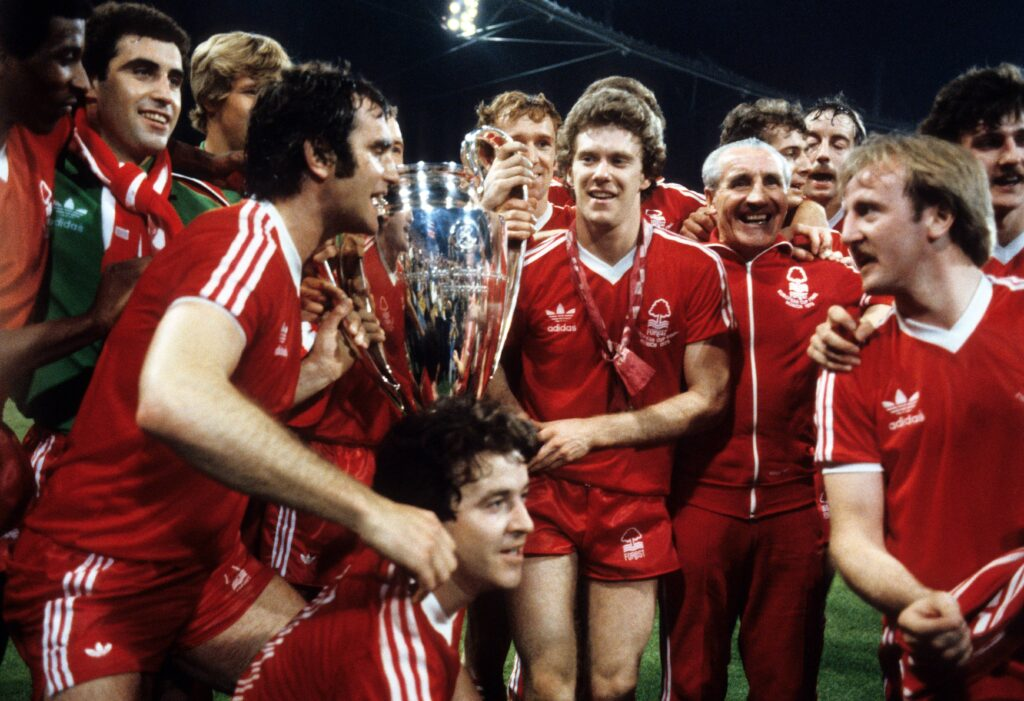 Il Nottingham Forest campione d'Europa