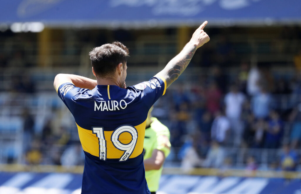 Zarate con il Boca Juniors