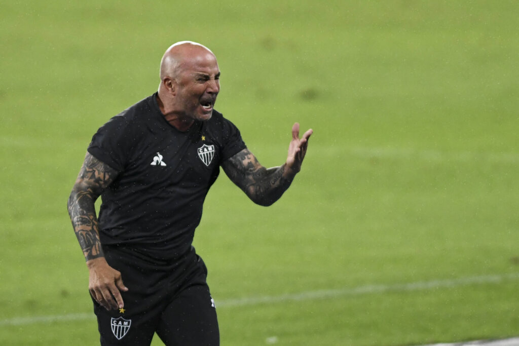 Sampaoli furioso ai tempi del Mineiro