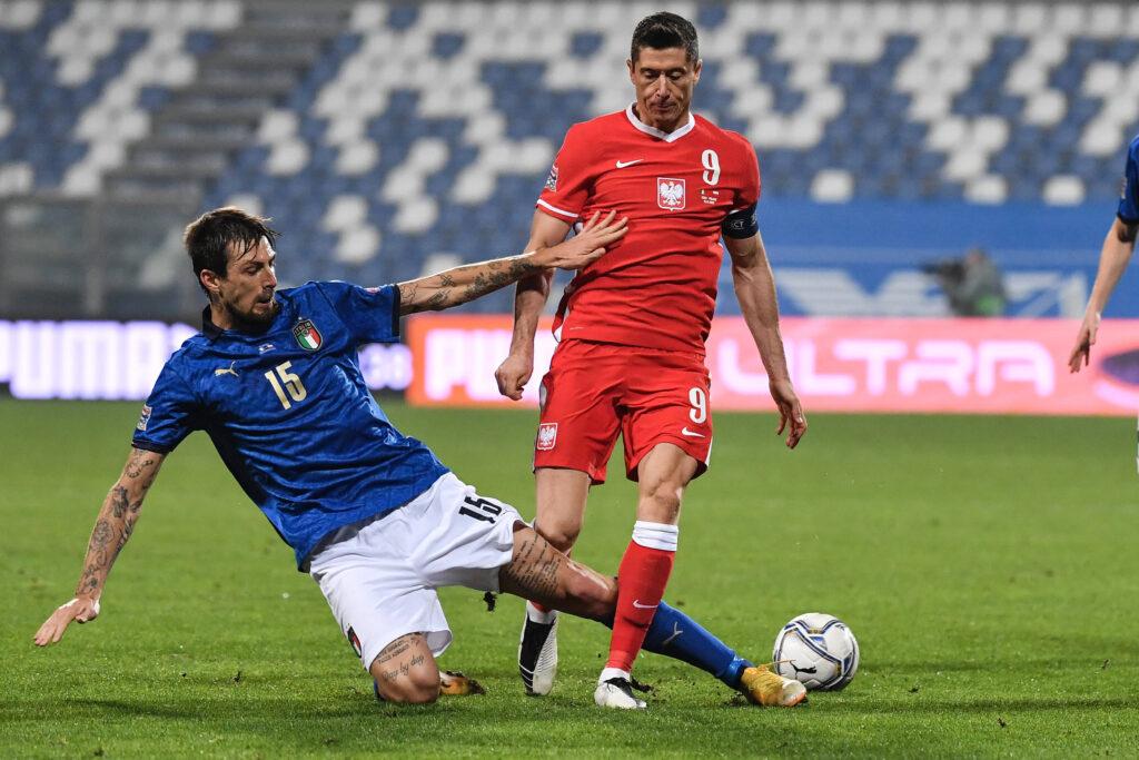 Acerbi va a contrasto con Lewandowski