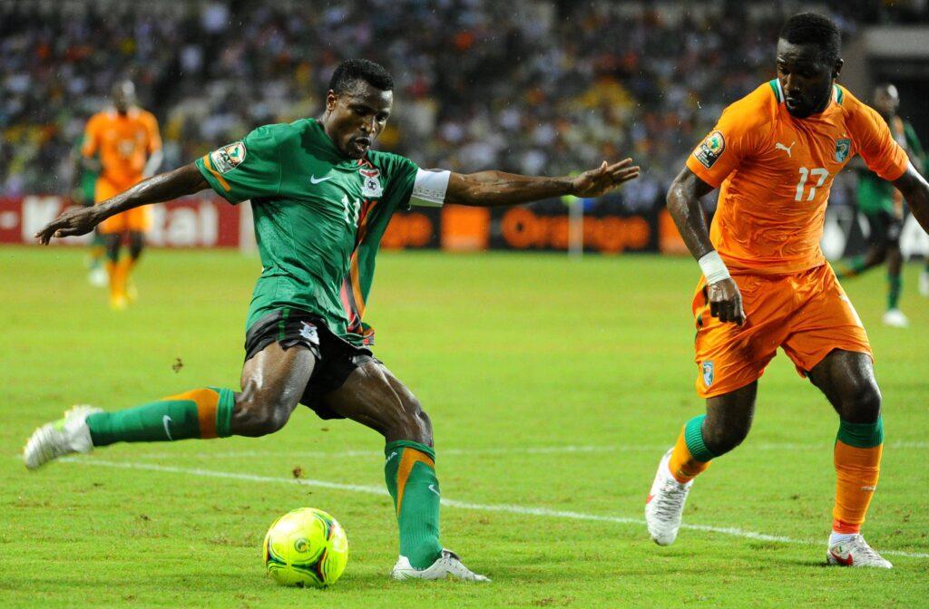 Christopher Katongo dello Zambia