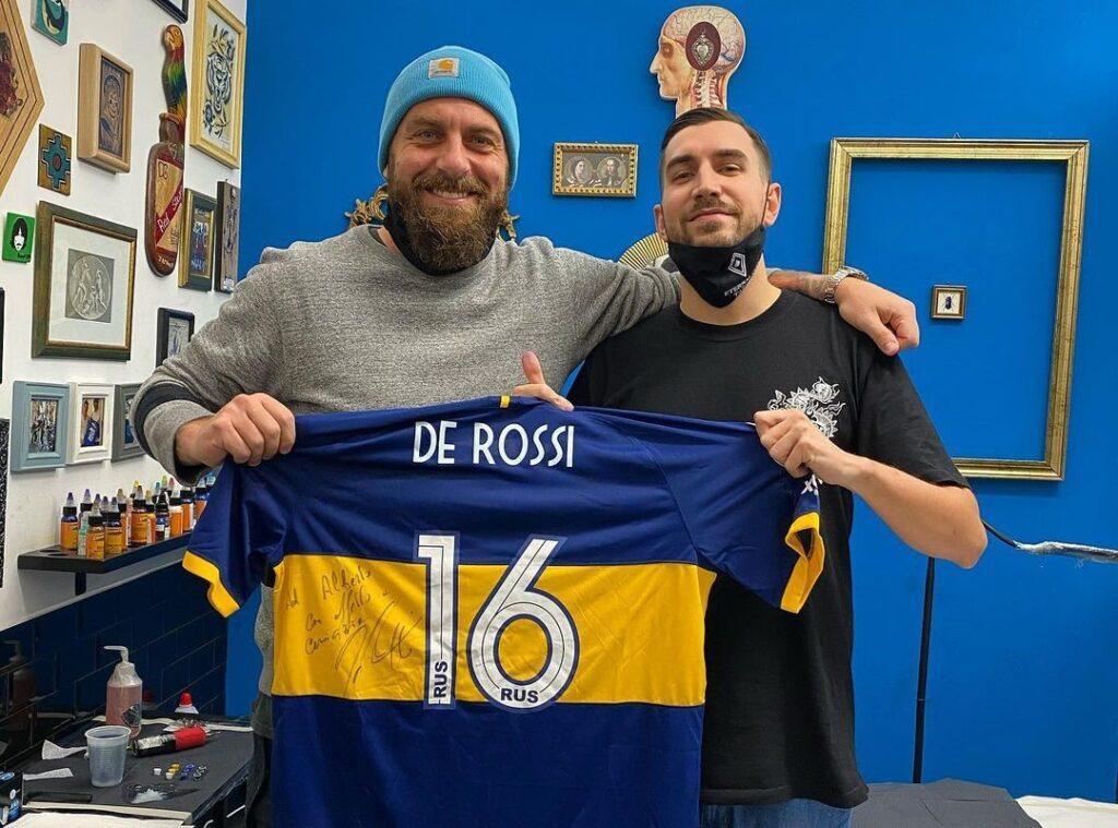 Alberto Marzari e Daniele De Rossi