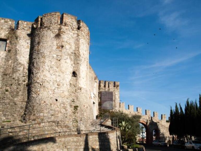 Uno scorcio del Castello San Giorgio a La Spezia