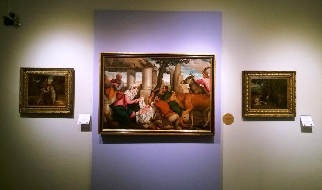 Una sala nel Museo Amedeo Lia