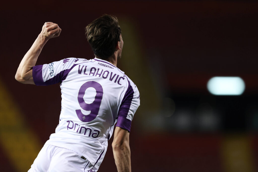 Dusan Vlahovic potrebbe essere il successore di Dzeko?