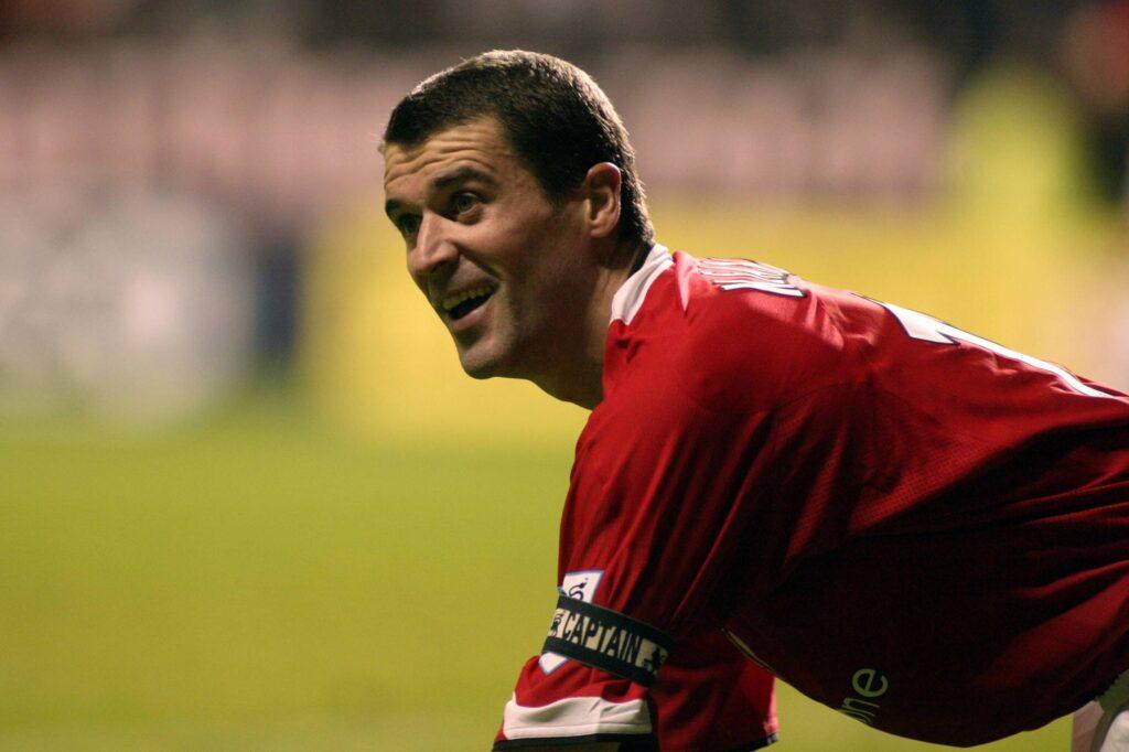 Roy Keane in maglia United