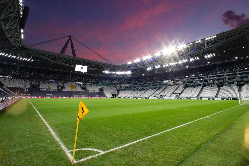 Tramonto all'Allianz Stadium