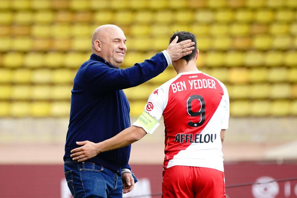 Frederic Antonetti saluta Ben Yedder