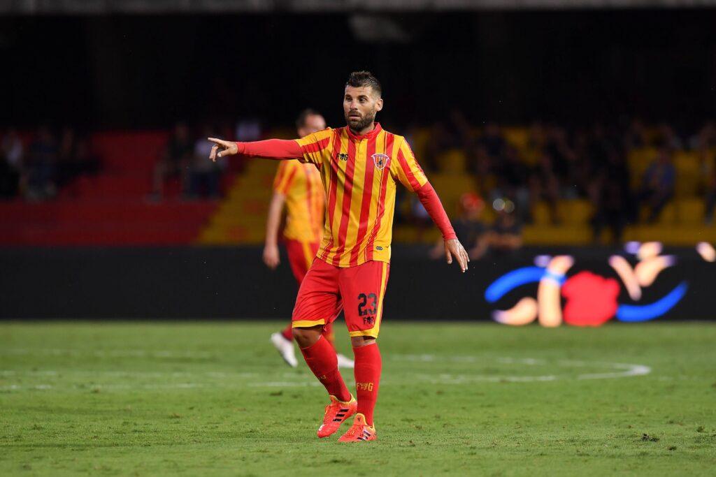 Antonio Nocerino indossa la maglia del Benevento