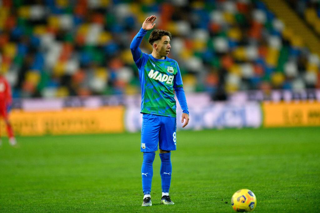 Maxime Lopez in maglia Sassuolo